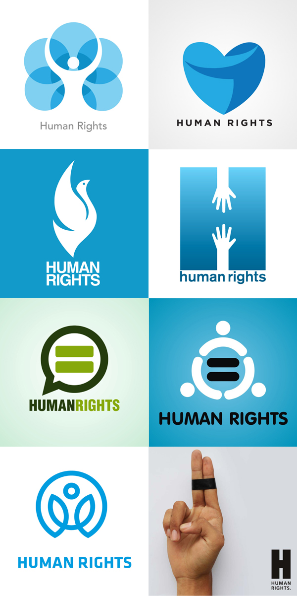 a logo for human rights the byczek blog